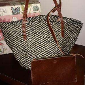 Handbags - Clare V. Los Angeles tote with wallet